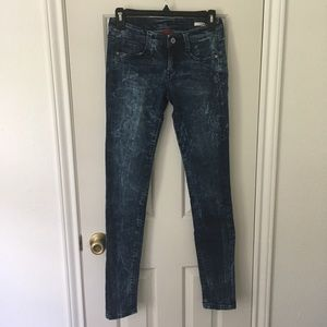 Funky wash jeans